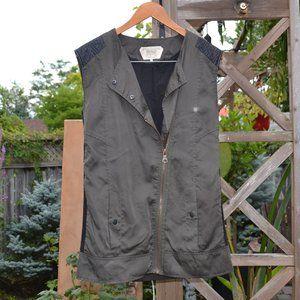 Zara TRF Military Style Vest